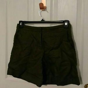 J.Crew linen bermuda shorts 000 xxxs